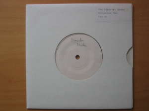 "The Sinister Ducks 7"" RARE test pressing"