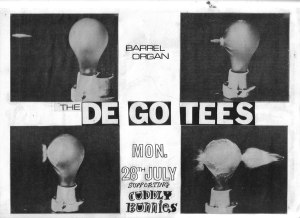 De-Go-Tees @ Barrel Organ
