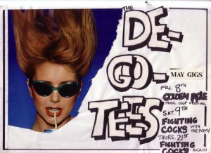 De-Go-Tees - '81 May gigs