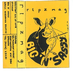 Ripzmag - Big 'n' Sassy tape cover