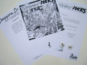 Sinister Ducks Press pack