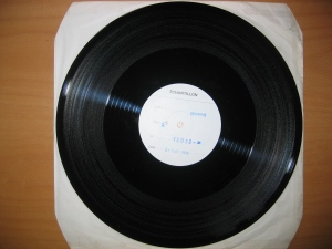 "V for Vendetta 12"" test pressing"